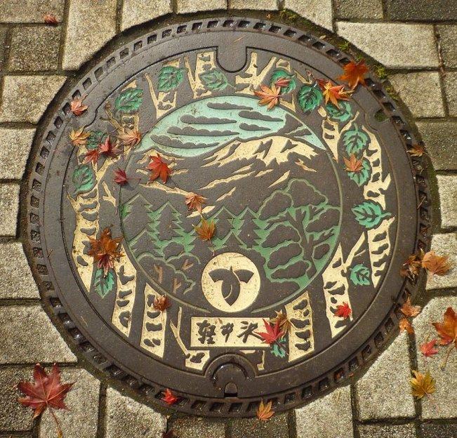 軽井沢町 | WEBマンホール図鑑